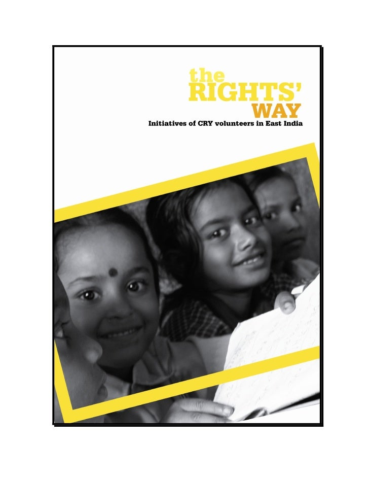 CRY – Child Rights and You (earlier known as Child Relief and You) is India's leading advocate for child rights. For over ...