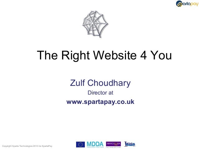 The right website for you 2013