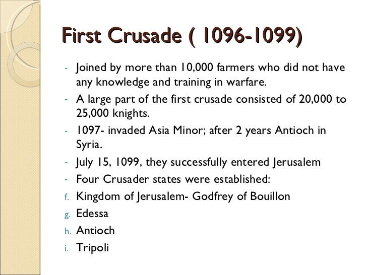 rise of the third crusade with The third crusade part of the crusades: the siege of acre was the first major confrontation of the third crusade.