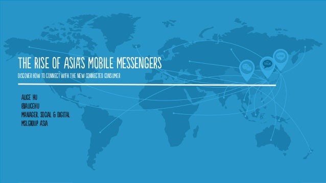 The Rise of Asia's Mobile Messengers