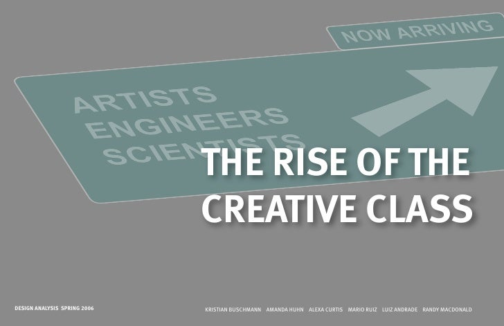 The Rise Of Creative Class