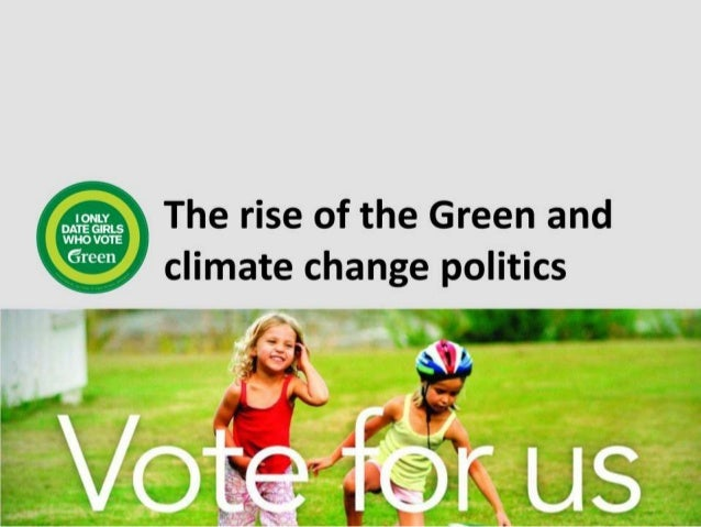 The rise of the green and climate change 2
