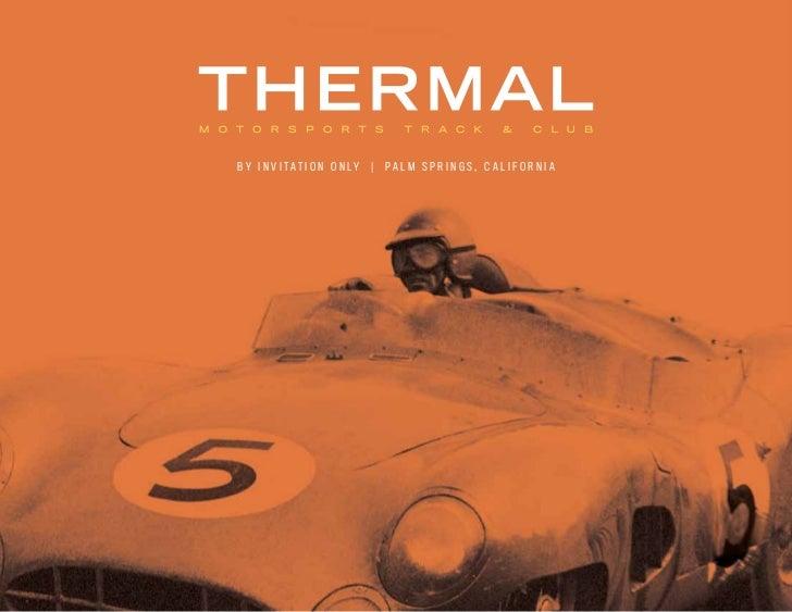 Thermal  Motorsports