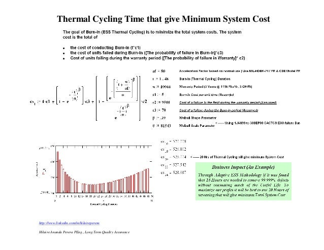 Thermal Cycling Time that give Minimum System Costhttp://www.linkedin.com/in/hilairepereraHilaire Ananda Perera PEng., Lon...