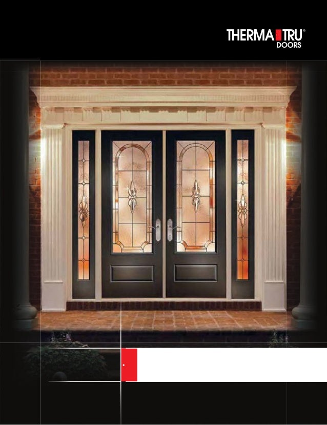 Therma tru door catalog for Therma tru front door