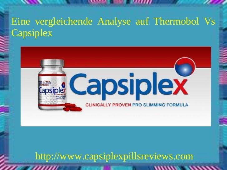 Eine vergleichende Analyse auf Thermobol VsCapsiplex     http://www.capsiplexpillsreviews.com