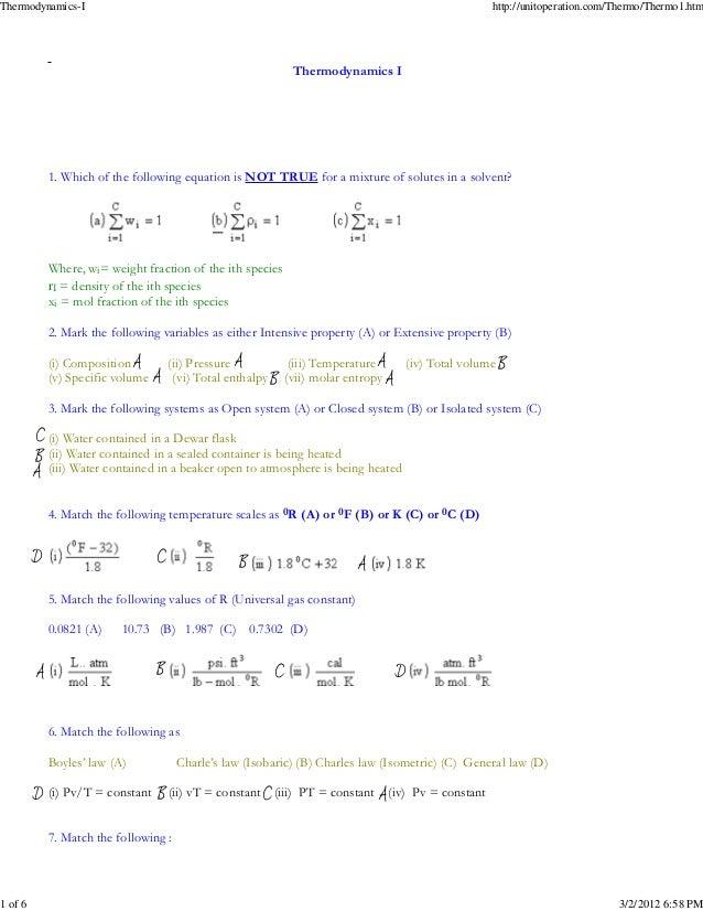 Thermodynamics-I                                                                                        http://unitoperati...