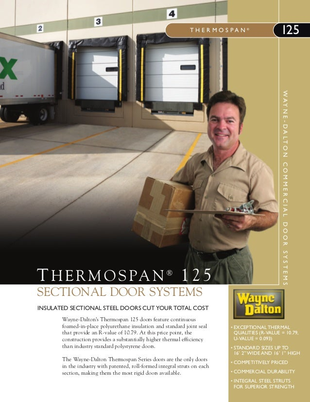 Sectional Door Systems - THERMOSPAN