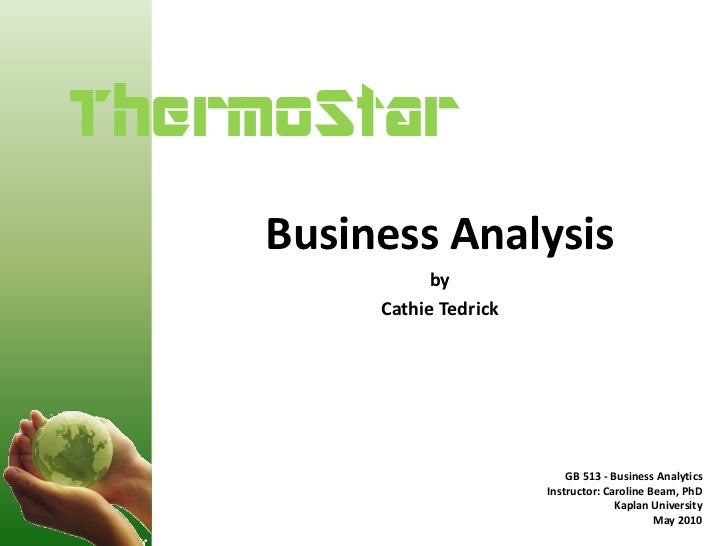 ThermoStar Business Analysis, May 2010