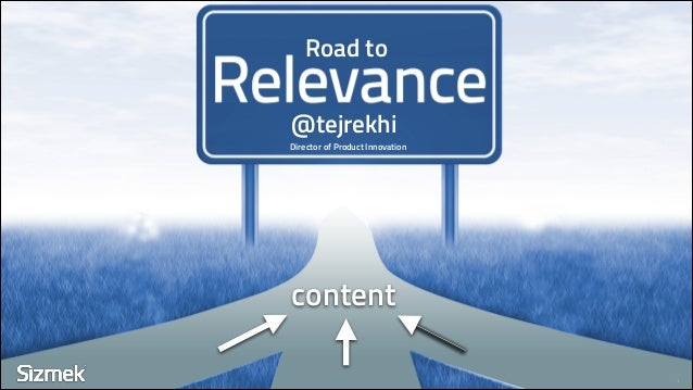 Road to @tejrekhi 1 content Director of Product Innovation
