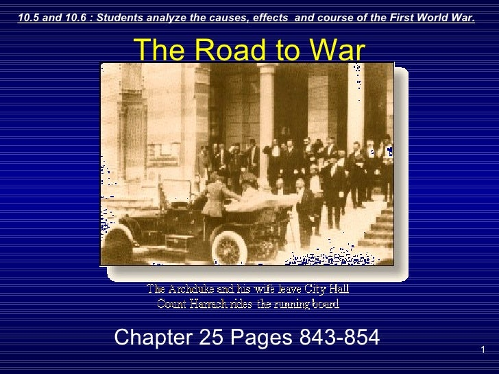 The Road to War Chapter 25 Pages 843-854