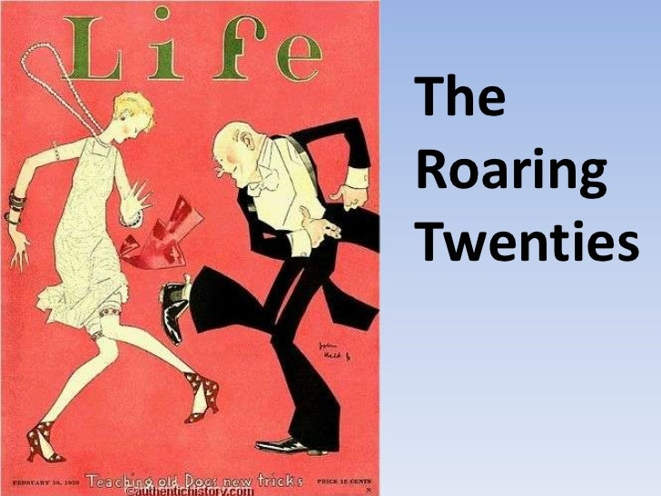 """Introduction to """"The Roaring Twenties"""""""