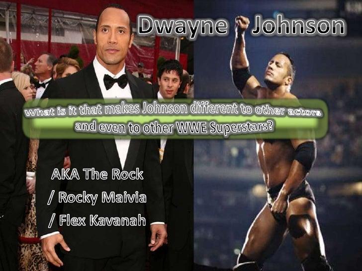 Dwayne Johnson Star Study