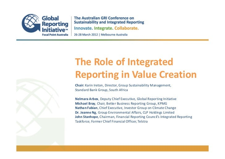 @GRIAusConf_The Role of Integrated Reporting in Value Creation - Dr Jeanne Ng