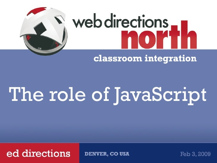 The role of JavaScript