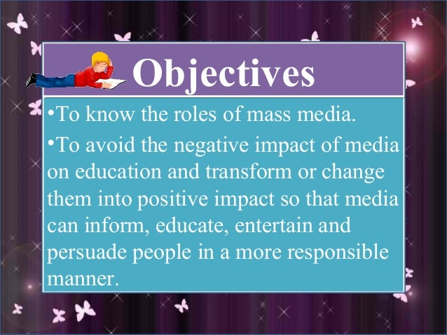 essay on mass media for kids Present age is called the age of informationand mass media are the powerful and the most effective instruments of spreading or sharing information mass media essay.