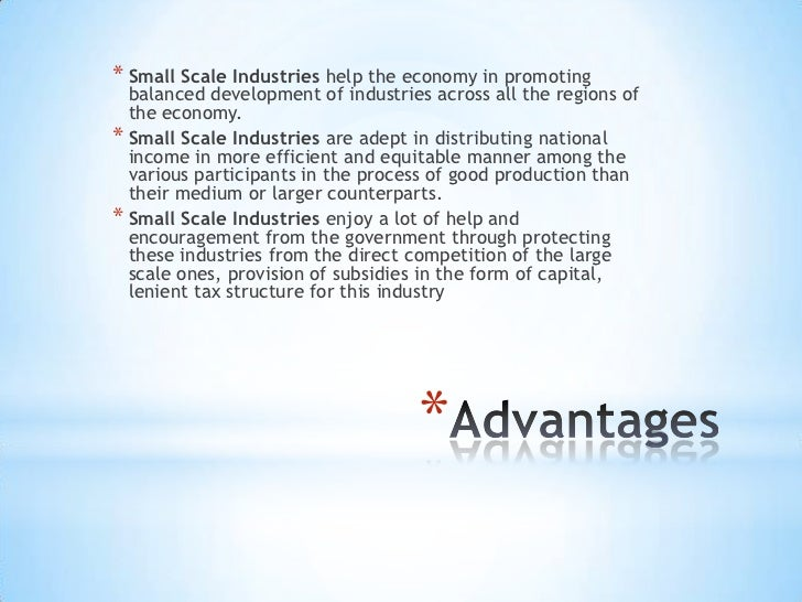 essay on small scale industries in india