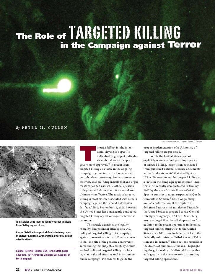 TargeTed Killing The Role of                                                                                              ...