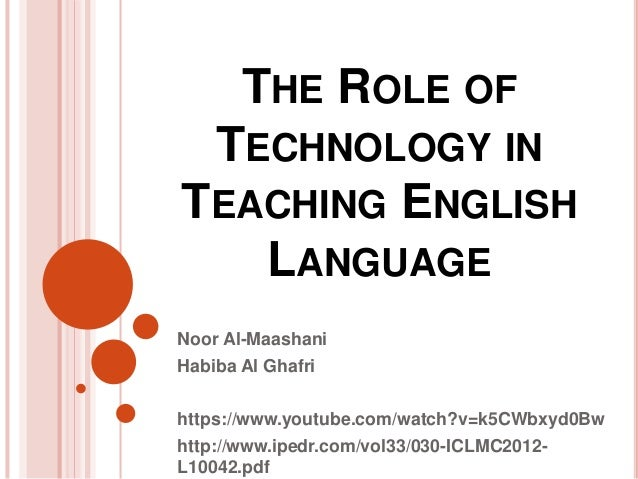 How students can use technology to improve their English
