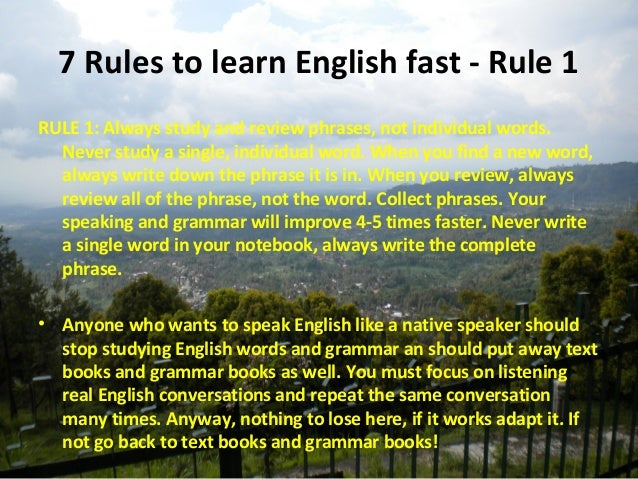 How to Learn English Fast | The Linguist