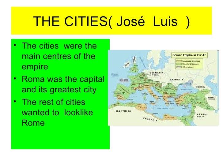 The roman  cities 2012