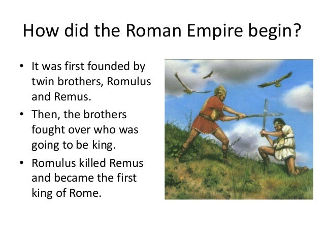 the start of the roman empire Full text lecture describing some of the attributes of roman social history under  the republic and empire.