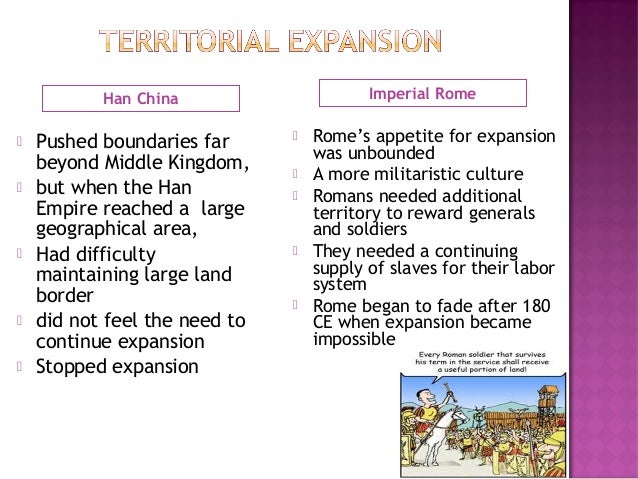 han dynasty and roman empire compare Comparative essay notes han china and rome empire emperor  the han  dynasty and the roman empire were two grand empires that rose out of  preexisting.