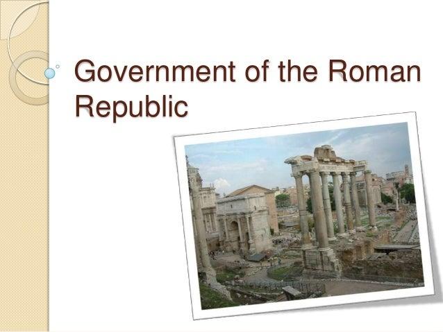 Government of the RomanRepublic