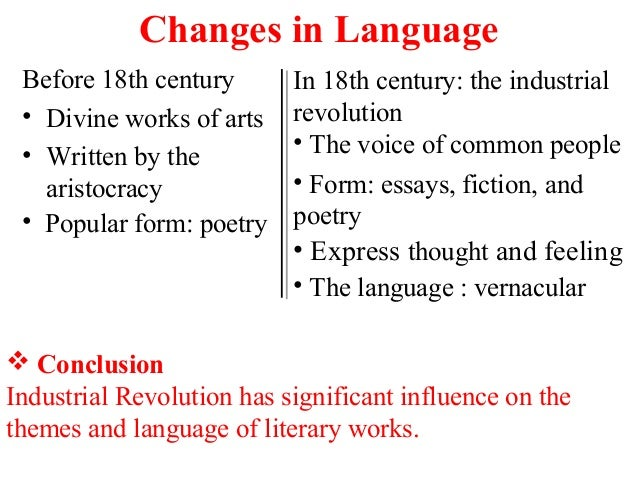 language change essay