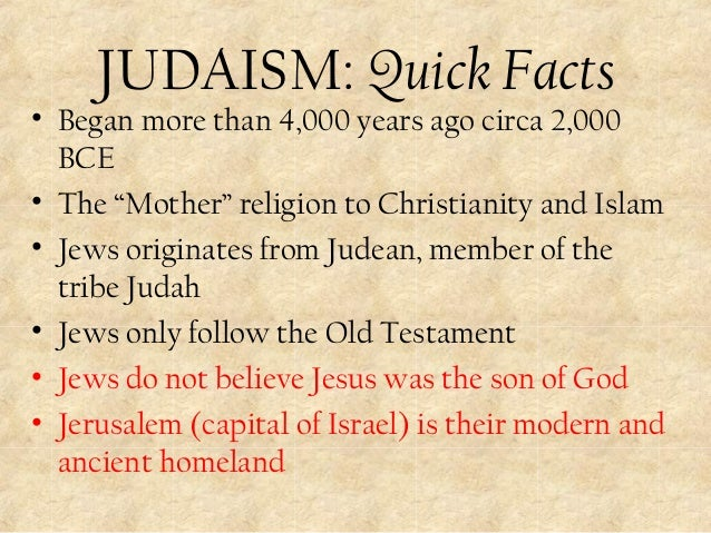 an overview of the practice of monotheism in judaism christianity and islam An overview of judaism judaism is one of the first monotheistic on culture and geopolitics and on the religions of christianity and islam.