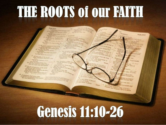 The roots of our faith (February 10th, 2013)