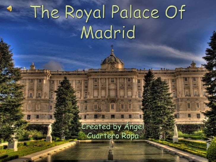 The Royal Palace Of Madrid<br />Created by Ángel Cuartero Ropa<br />