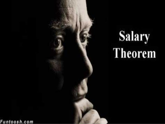 The salary theorem