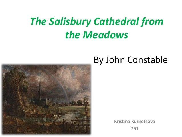 The salisbury cathedral from the meadows