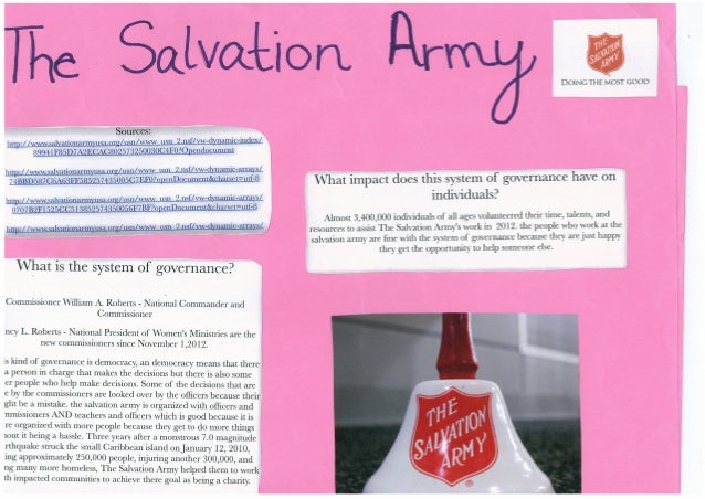 The salvation army poster (Sofia)