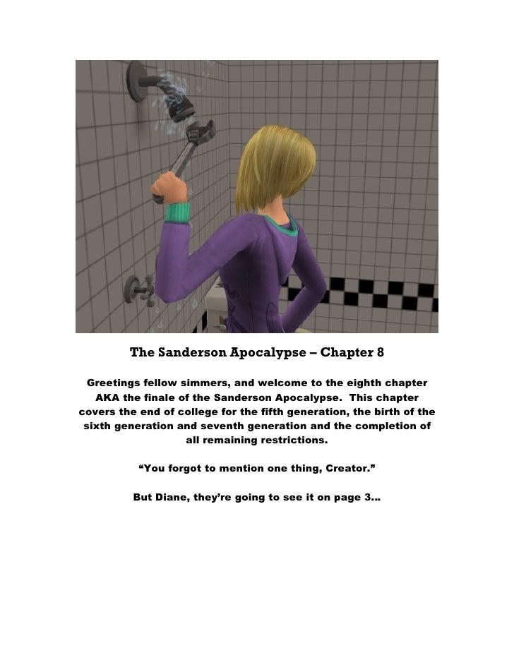The Sanderson Apocalypse Chapter 8