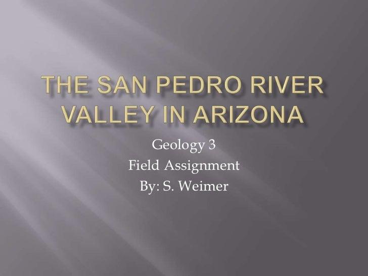 The san pedro river valley in arizona