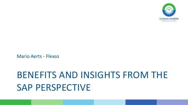 Mobilizing the Enterprise - The SAP perspective