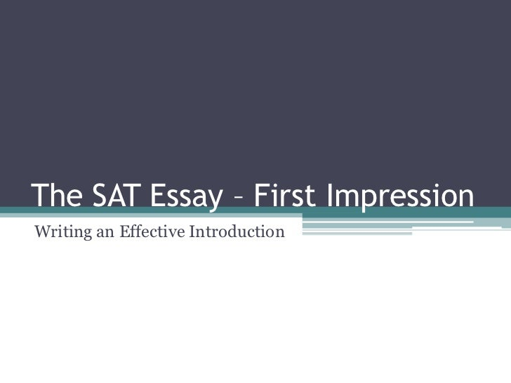 first impression essay conclusion - first impressions are the last impressions, as the saying goes forming a good first impression is vital to a good begging of any relationship, whether it is professional or personal.