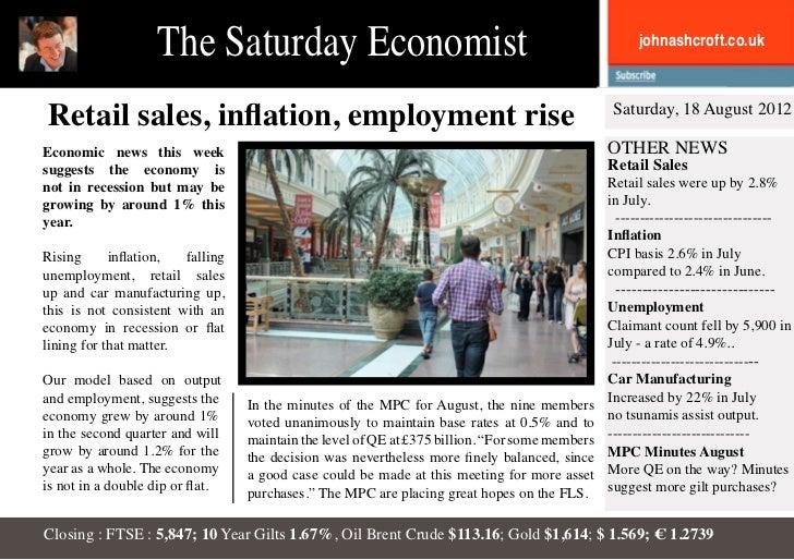 The Saturday Economist                                                             johnashcroft.co.ukRetail sales, inflati...