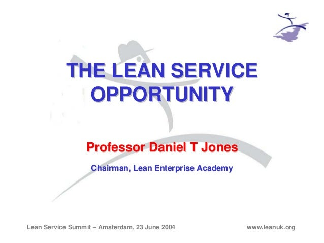 The Scale of the Lean Service Opportunity