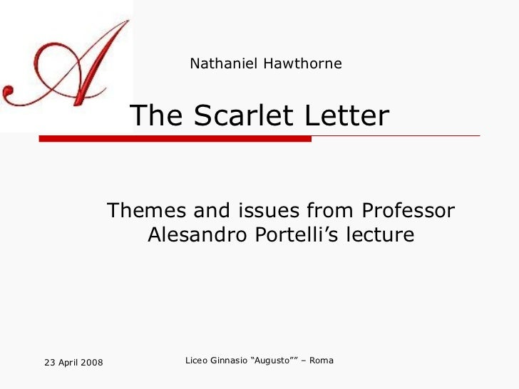 the dissection of symbolisms in the scarlet letter by nathaniel hawthorne Baumlin post-jungian criticism explora as teorias pos junguianas artigo.