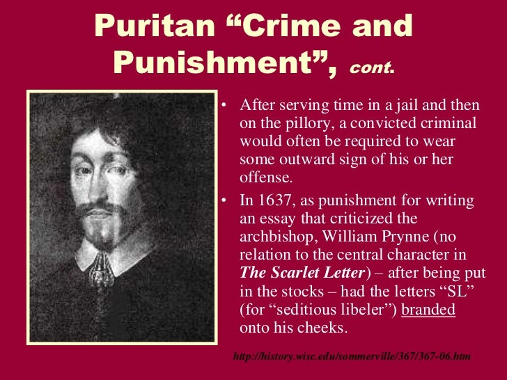 criticism essay scarlet letter puritan Sample queries for search hester prynne essay the scarlet letter: character analysis of pearl the scarlet letter is the story of hester prynne, who is.