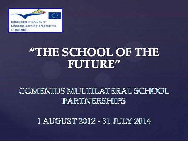 """THE SCHOOL OF THE FUTURE"""