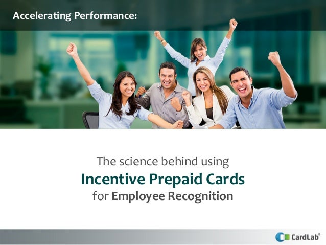 The Science Behind Incentive Cards for Employee Recognition