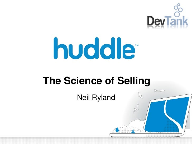 The Science of Selling      Neil Ryland
