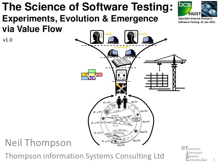 The Science of Software Testing:                     SIGiSTExperiments, Evolution & Emergence            Specialist Intere...