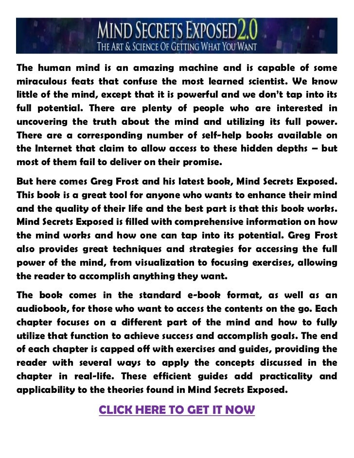 The human mind is an amazing machine and is capable of somemiraculous feats that confuse the most learned scientist. We kn...