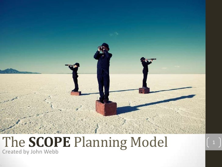 The SCOPE Planning Model