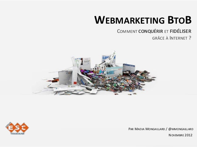 Webmarketing BtoB : Comment conquérir et fidéliser grâce à Internet?